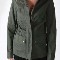 City Girl Jacket - Olive