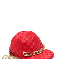 Moto Chic Quilted Hat Clutch GoJane.com