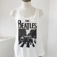 THE BEATLES TANK- IVORY