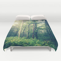 Inner Peace Duvet Cover by Olivia Joy StClaire