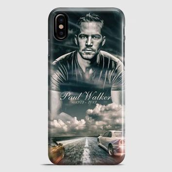 Paul Walker Fast And Furious iPhone X Case