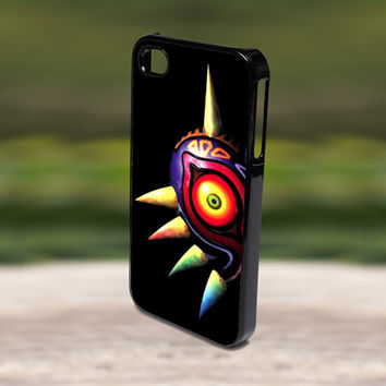Accessories Print Hard Case for iPhone 4/4s, 5, 5s, 5c, Samsung S3, and S4 - Popular The Legend of Zelda Majora Mask