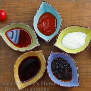 Ceramic Dish Japanese Sushi Dish Creative Gifts Home Kitchen Necessities Multi-flavored Dish