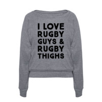 I Love Rugby Guys & Rugby Thighs | T-Shirts, Tank Tops, Sweatshirts and Hoodies | Activate Apparel