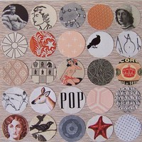 Original Collage  Pop by hesperus on Etsy