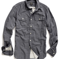 Charcoal Two Pocket Sport Shirt