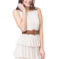 Teeze Me Layer It On Me Dress - Natural