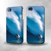 S0438 Hawaii Surf Full Wrap Case Cover for Iphone 5, 5S, 5C, 4, 4S