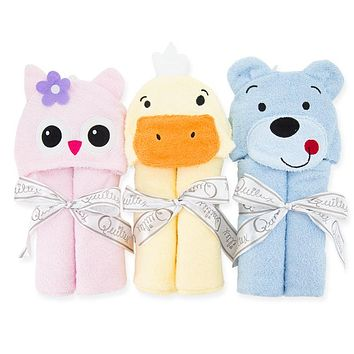 Fashion Designs Animal Hooded Baby Bathrobe Cartoon Baby Towel Character Kids Bath Robe Infant Beach Towels