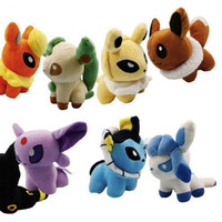 Pokemon 5 inch Stuffed Animal Gift Cute Rare Soft Plush Dolls Toys