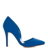 Electric Love Pumps - Cobalt