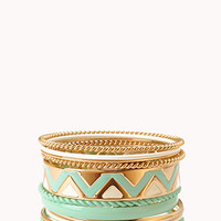 Zigzag Bangle Set