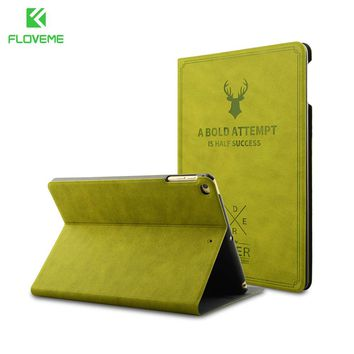 FLOVEME Flip Leather Case for iPad Air 2 Luxury Cover Flip Stand Smart Case For iPad Air 1 For iPad Pro 9.7 Luxury Hard Cover