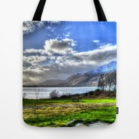 Scotland Tote Bag by Haroulita | Society6