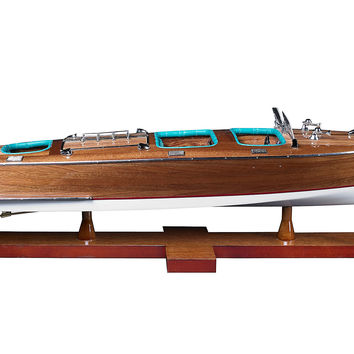 Triple Cockpit Boat Model, Models