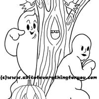 ghost man woman halloween coloring page printable art download digital coloring book pages halloween image graphics
