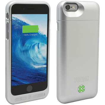 LENMAR BC6S iPhone(R) 6/6s Power Case (Silver)