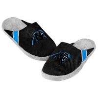 Panthers Jersey Mesh SLIDE SLIPPERS New -   - Carolina Panthers