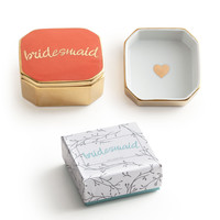 """""""Love is in the Air"""" Decorative Box - """"Bridesmaid"""""""