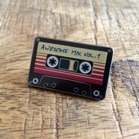Awesome Mix 1 - Soft Enamel Lapel Pin