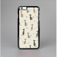 The Vintage Solid Cat Shadows Skin-Sert Case for the Apple iPhone 6 Plus