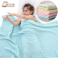 baby blanket Muslin Cotton 6 layer super soft Newborn Baby Swaddling Sleeping blankets bedding Spring and summer Bath Towel