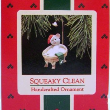 1988 Squeaky Clean Hallmark Retired Ornament