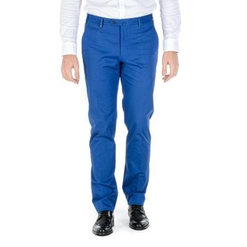 Corneliani Mens Pants Blue