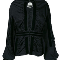 Yves Saint Laurent Vintage 2004 Draped Fitted Jacket - Farfetch