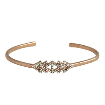 Savannah Crystal Bangle
