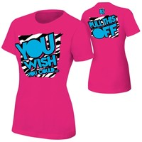 """Dolph Ziggler """"You Wish You Could"""" Women's Authentic T-Shirt"""