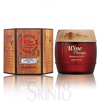 Holika Holika Wine Therapy Sleeping Mask (Red Wine)  (exp.date 04/19)
