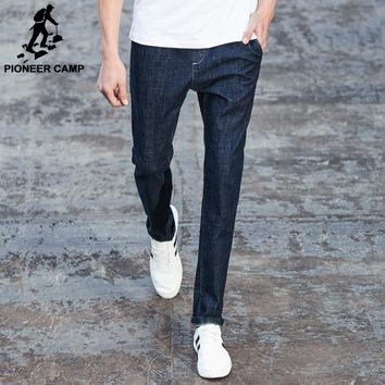 Pioneer Camp New design jeans men famous brand clothing male denim trousers fashion casual skinny jeans pants for men ANZ707001