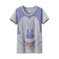 Women Crew Neck T-Shirt Disney Project Mickey Mouse (Uniqlo)