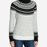 Women's Arctic Fair Isle Sweater | Eddie Bauer