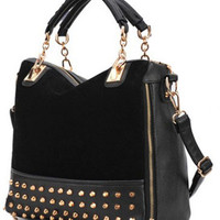 Rivets Handbag Shoulder Bag