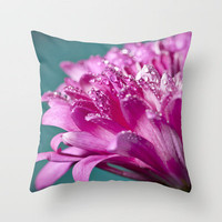 Rain Throw Pillow by Frances Louw | Society6