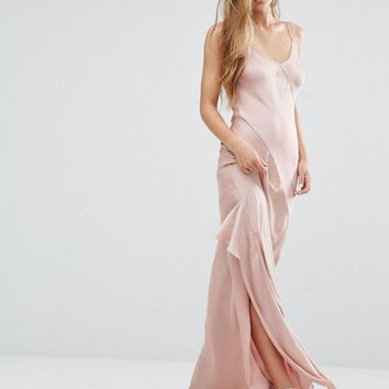 Miss Selfridge Cami Slip Maxi Dress at asos.com