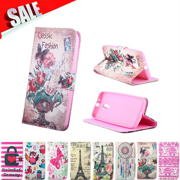 Case For Moto G 2 Case Luxury Silicone Leather Card Holder Stand Phone Back Cover For capinhas motorola moto g2 case coque