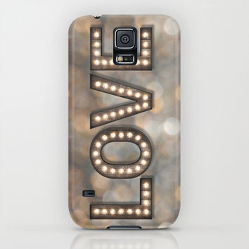 Love is the Light of Your Soul (LOVE lights) iPhone & iPod Case by soaring anchor designs ⚓ | Society6