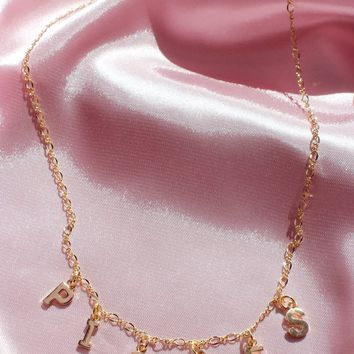 Pisces Star Crossed Lovers Necklace