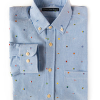 Slim Fit Shirt - Ernest Shackleton Voyage - Men's - by Kiel James Patrick