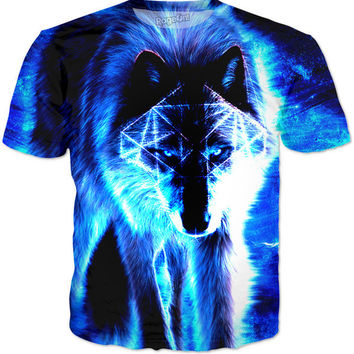 Boosted Blue Wolf T-Shirt