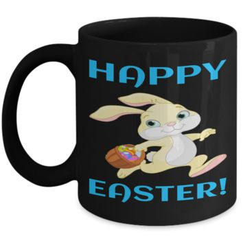 Fun Kid Mug Cup For Children Black Bpa Free Chocolate Cookies Jar Coloring Marker Holder Drink Mugs For Cocoa Milk Juice Best Affordable Holiday Gift For Kids 2017 2018 Happy Easter Jar