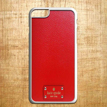 kate spade red copy for iphone 4/4s/5/5s/5c/6/6+, Samsung S3/S4/S5/S6, iPad 2/3/4/Air/Mini, iPod 4/5, Samsung Note 3/4, HTC One, Nexus Case*PS*