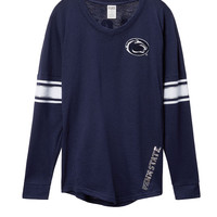 Penn State University Bling V-neck Varsity Crew - PINK - Victoria's Secret