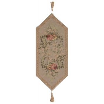 Aubusson Light I Small French Table Runner