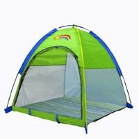 """Pacific Play Tents Baby Suite Deluxe Nursery Tent w/1.5"""" Pad - Green"""