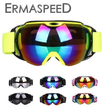 Winter Ski Motorcycle Glasses Protective Goggles For Harley Motorcycle Dirt Bike Racing Ski Goggles Protective Gears Accessories