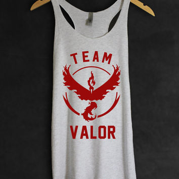 Pokemon GO Shirt Team Valor Women Tank Top Tee | Quote | | Pokemon Gift | Funny Quotes Anti-social Womens Childrens Gift